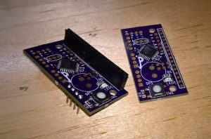 Twomore boards, one with headers